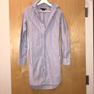 Ralph Lauren dress boyfriend shirt dress